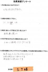効果実感アンケート (2)